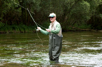 John Penrose MP fishing