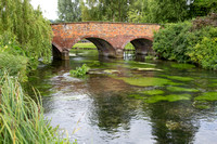 River Kennet at Mildenhall