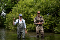 Angling Trust's Mark Lloyd coaching Sports Minister Tracey Crouch