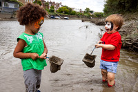 Chiswick - river dipping