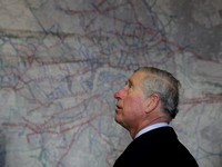Prince Charles - map of London's sewer network